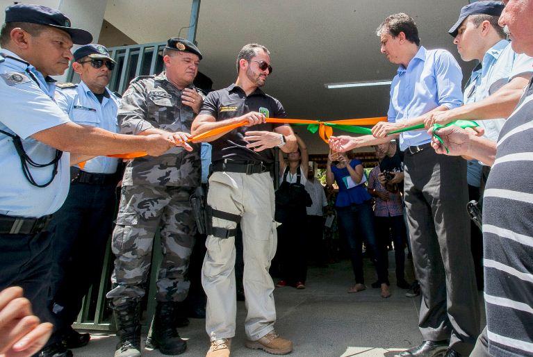 A ideia é promover a aproximação dos serviços ofertados pela Polícia Civil, Corpo de Bombeiros, Polícia Militar e Perícia Forense com a comunidade